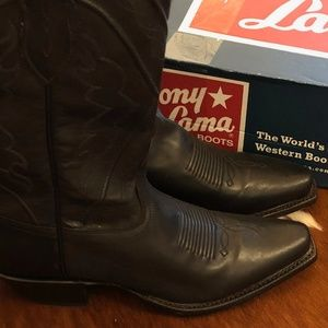 NWT - Tony Lama Leather Cowboy Boots